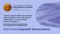 MacRobert Award finalist banner for PragmatIC