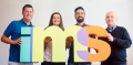 New IMS owners: (Left to right) Simon Young, Courtney Peat, James Kavanagh and Aleks Ilic