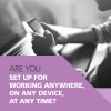 Breathe Technology banner: Are you set up for working anywhere, on any device, at any time?