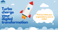 turbo charge your digital transformation _ rocket ship image