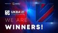 UKBA21 winner banner