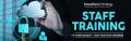 staff training banner