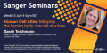 Sanger seminars banner
