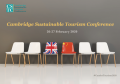 'Cambridge Sustainable Tourism Conference 2020' banner
