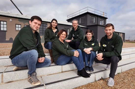 Groundwork team  (left to right) Matt Langley, Diana Hedley, Jane Mills, Chris Dungate, Andrea Finbow, and Ashley Lydiate.