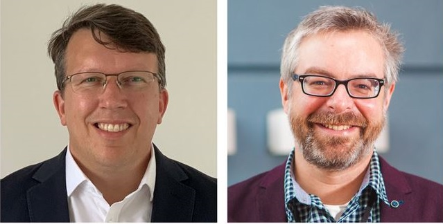 Dr Paul Thompson (left) and Dr Nick Edmunds