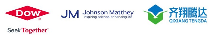 Dow, Johnson Matthey and Qixiang Tengda logos