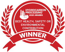winning rosette_ Aveva wins in  'Best Health, Safety or Environmental Contribution' category