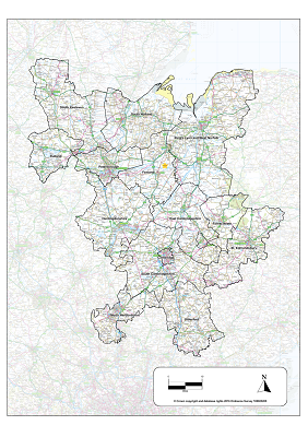 LEP map of geographical area eligible for grants