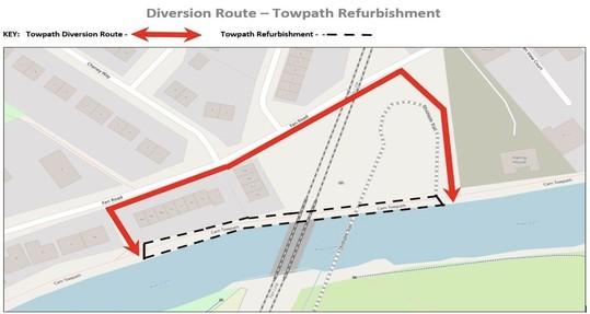 towpath diversion1