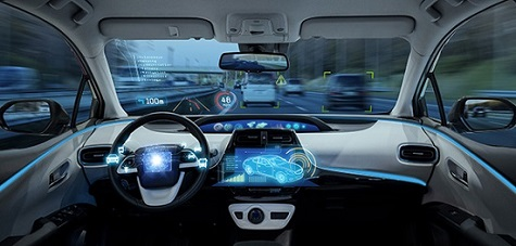 Car dashboard_ Arm thechnology helps to accelerate the software-defined future of automotive.