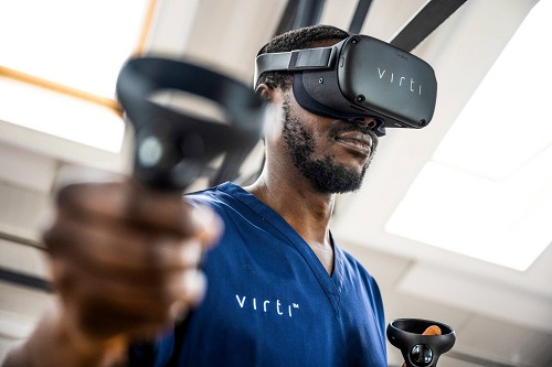 Virti helps organisations optimise learning, training and performance using interactive simulations and AI-powered data analysis.