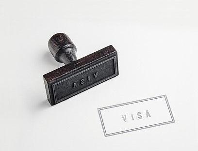 Visa stamp _Image by VIN JD from Pixabay