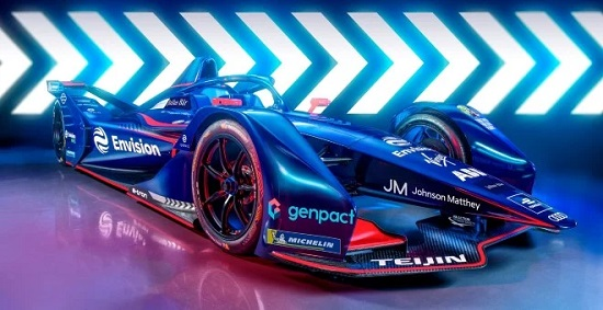 Johnson Matthey and Envision Virgin Racing announce multi year strategic partnership