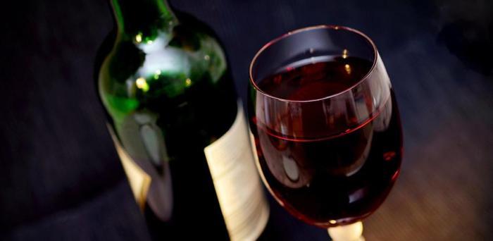 Wine glass and bottle  Credit: congerdesign