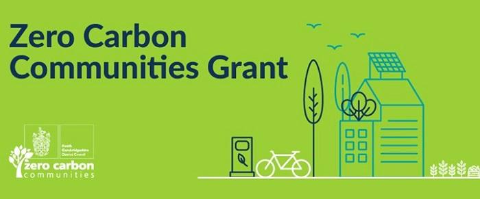 zero carbon communities grant graphic